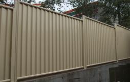 Colourbond Boundary Fence