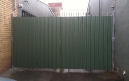 Colourbond Security Gates