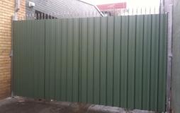 Colorbond Security Gate