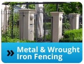 Metal & Wrought Iron Fencing